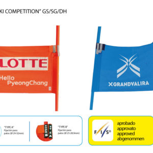 Banderolas de competición y entrenamiento